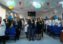 В больнице отметили главный государственный праздник – День Независимости РК