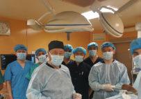 Кафедрой травматологии и ортопедии проведен мастер-класс на тему:  «Оперативное лечение перелома локтевого отростка».