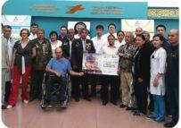 В ГКП на ПХВ «ГБСНП» проведен день открытых дверей для инвалидов воинов афганцев.