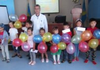 БСНП  собрала детей в  школу!