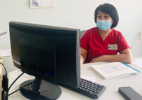 Продолжаем знакомить вас с сотрудниками нашей больницы Туякова Кулжанат Данакуловна
